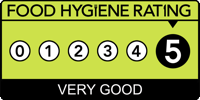 Five Star Food Hygiene Rating at The Wro